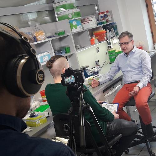 Interview with Andrzej Dziembowski is ready!